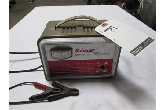 schauer solid state battery charger m n a6612 lot location rh bidspotter com Schauer Battery Charger Model C7612 Schauer Battery Charger Model C7612