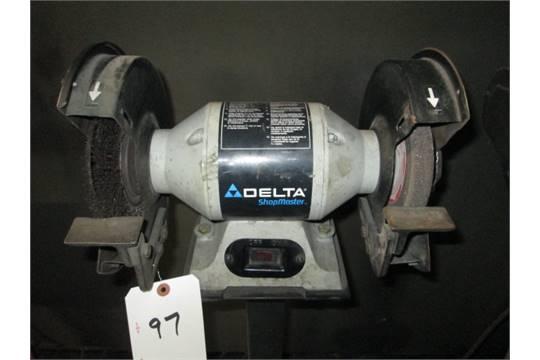 Delta Shop Master 8in Bench Grinder M N Gr350 Lot Location