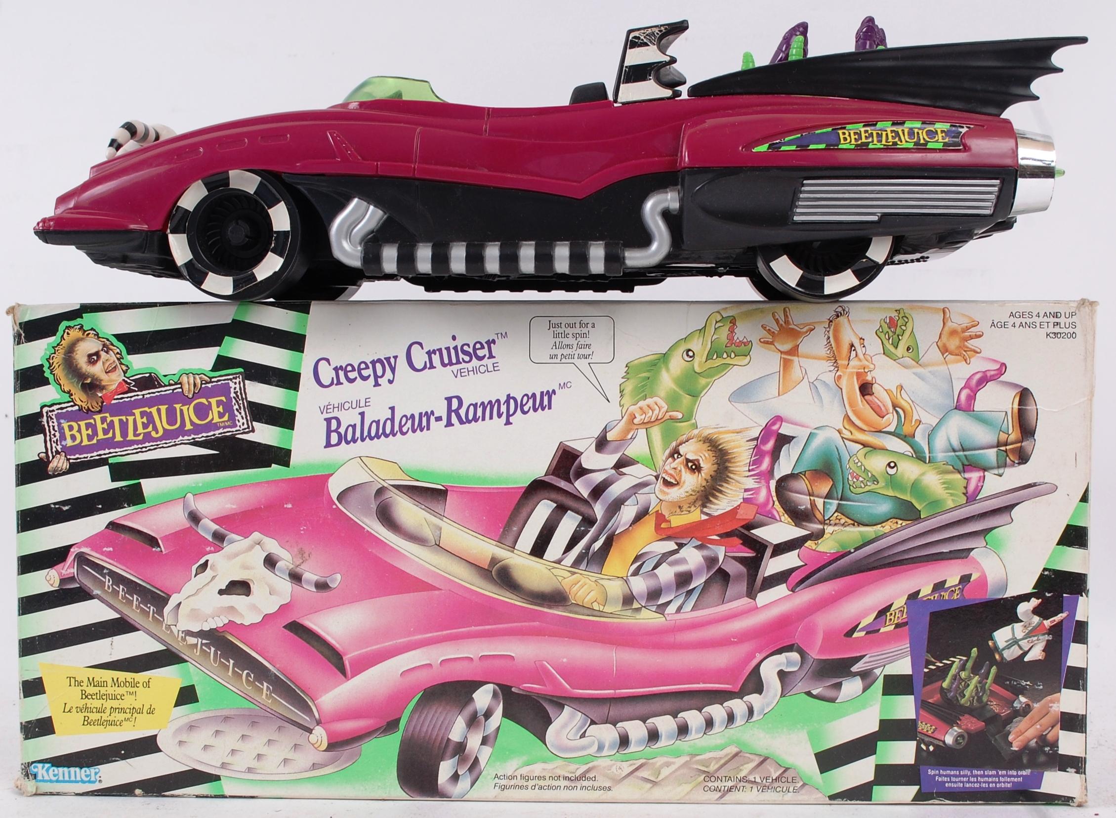 BEETLEJUICE An original Kenner Beetlejuice Creepy Cruiser vehicle
