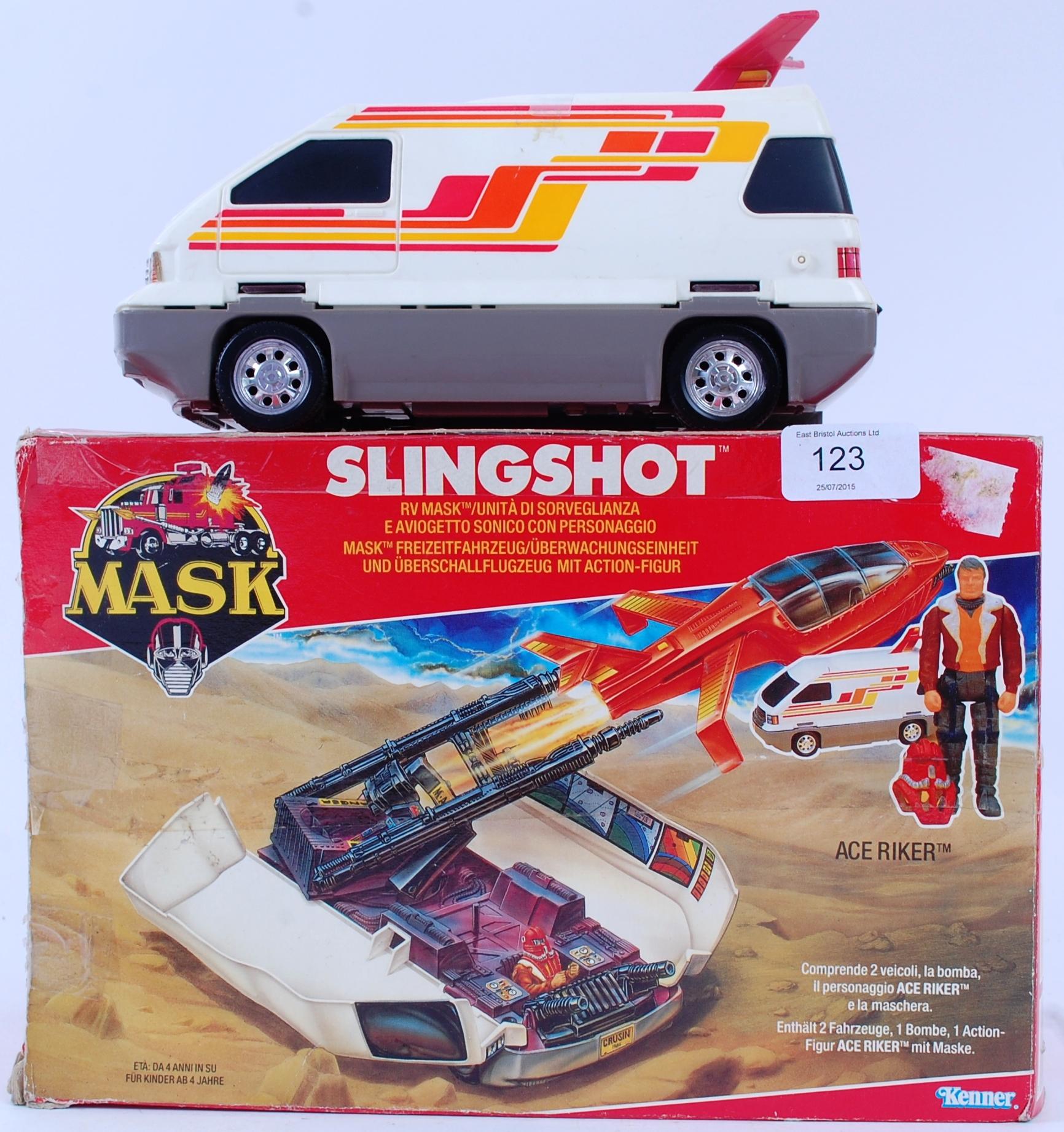 MASK An original retro vintage Kenner MASK Slingshot toy with the