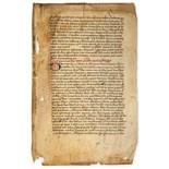 Lot 33 - Bernard of Clairvaux, - parts of Liber de Modo Vivendi and a number of sermons  parts of  Liber de