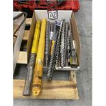Lot of Assorted Hammer Drill Bits