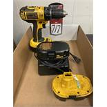 """DEWALT DC720 1/2"""" Cordless Drill Driver w/ (3) Batteries and Charger"""