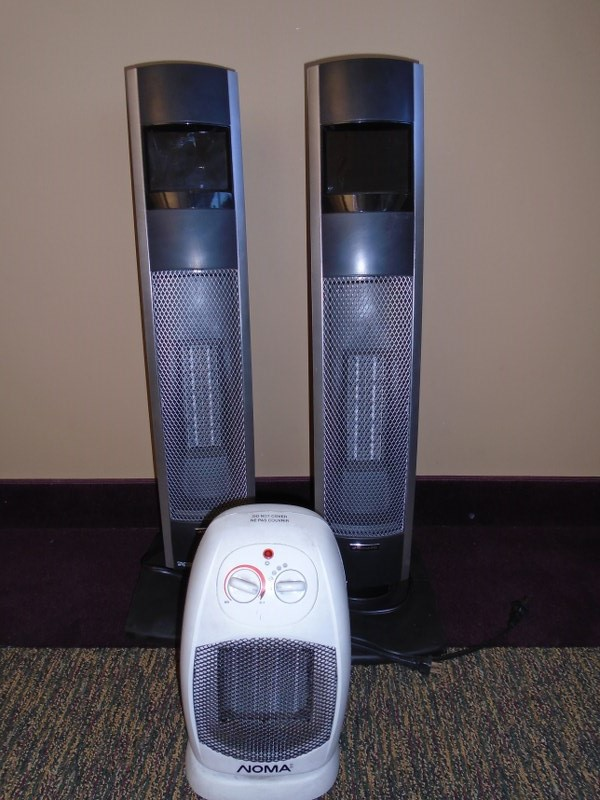 Lot 43 - Lot of Room Heaters