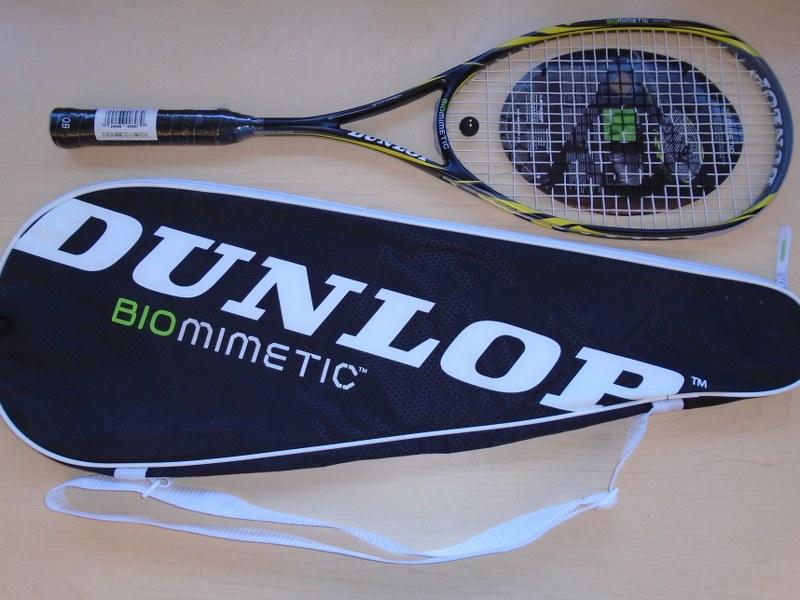 Lot 32 - Dunlop BIOMETRIC Squash Raquet (New)