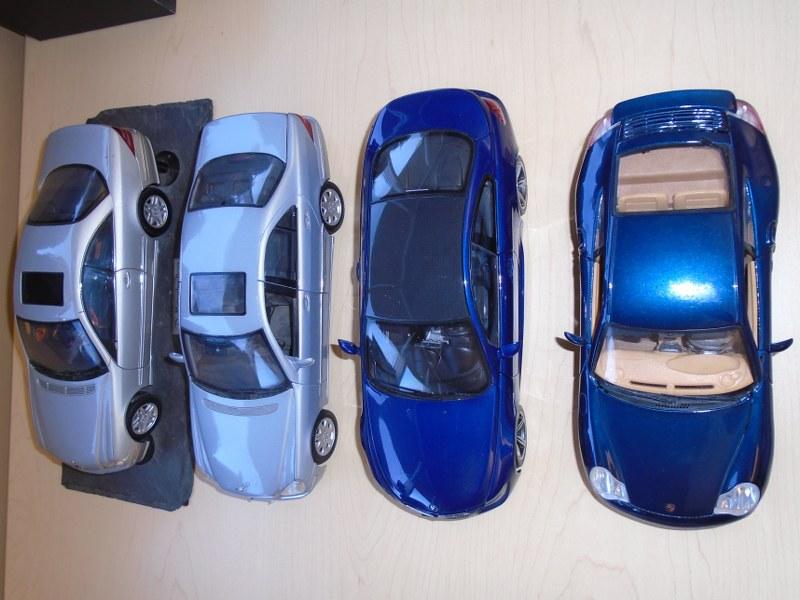 Lot 31 - Lot of 4 Replica model cars