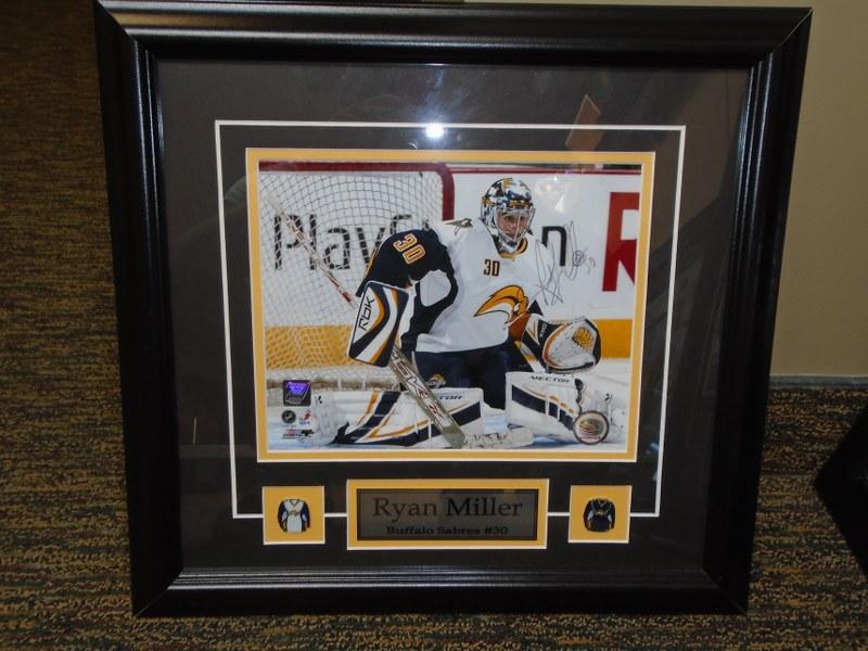 Lot 5 - Ryan Miller - Signed Print in frame