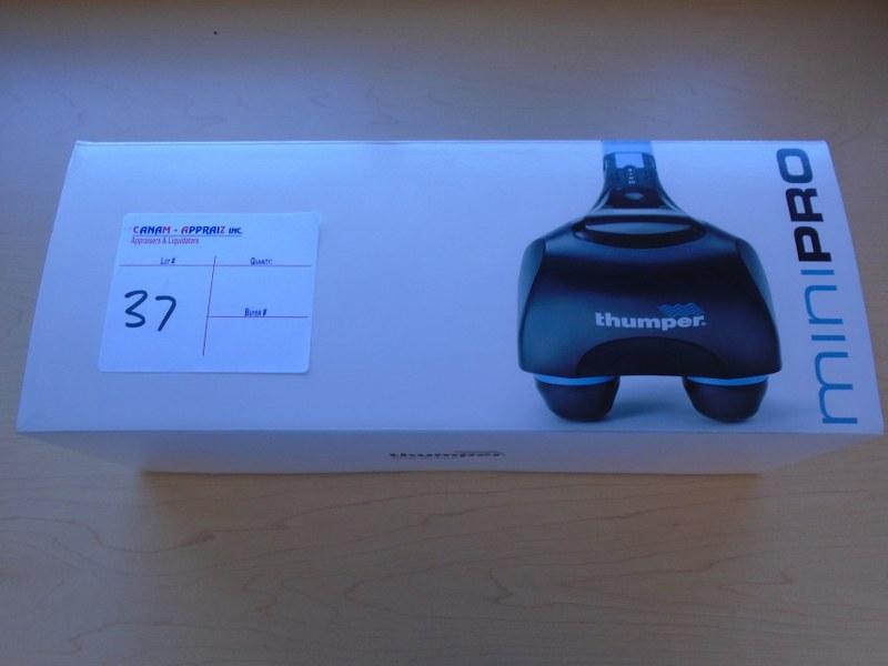 Lot 37 - Thumper Mini Pro D401 - Percussive Massager