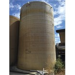10,000 Gallon Poly Water Storage Tank, Approx. Dimensions 12' W x 18' H