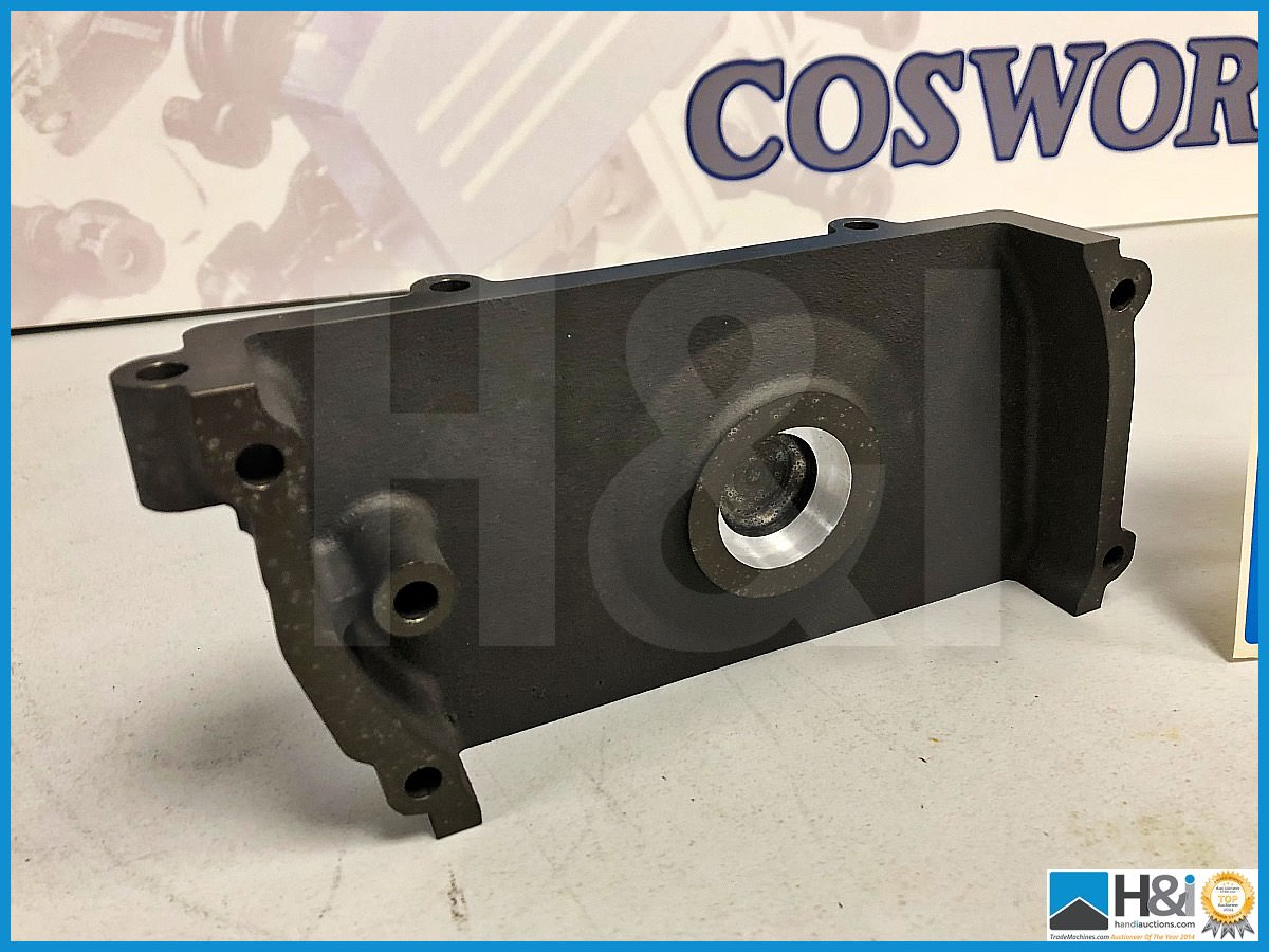 Lot 40 - 4 x Cosworth DFV front cover cylinder head LH. Code: DA0091. Lot 278