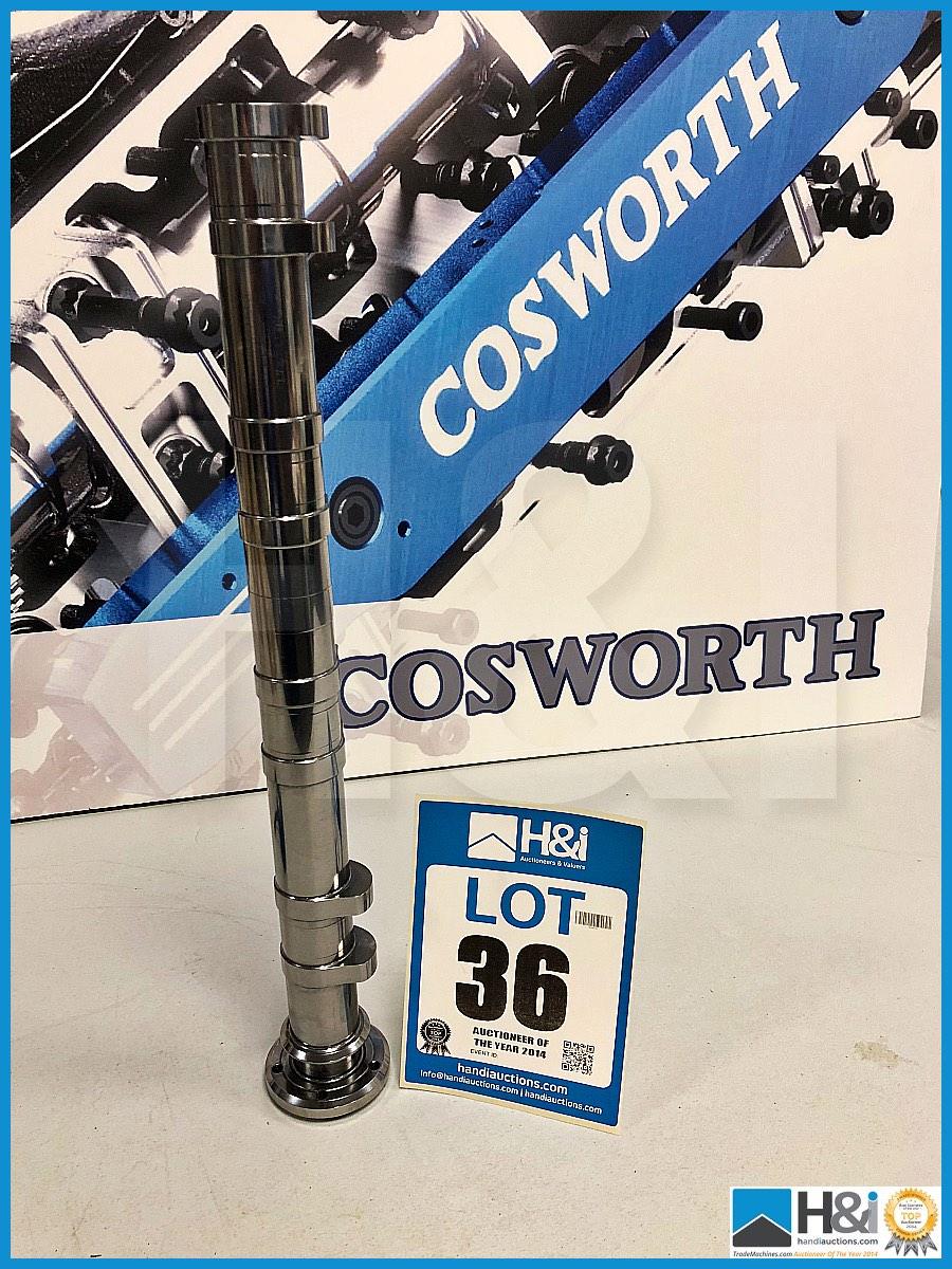 Lot 36 - 2 x Cosworth XG Indycar camshaft RH exhaust XG22A BB. Code: XG2052. Lot 265