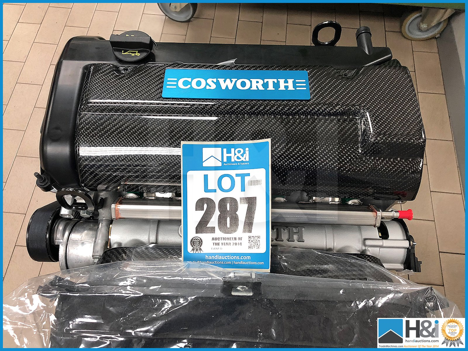 Lot 259 - Limited edition, brand new Cosworth Duratec 2.0L 255 BHP engine. This is one of only 12 engines to b