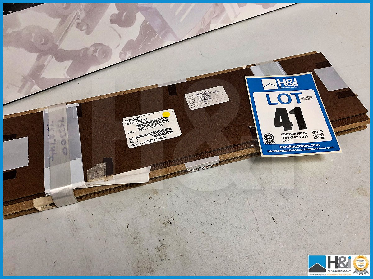 Lot 41 - Approx 20 x Cosworth XG Indycar gasket - cylinder head - 0.5. Code: XG2684. Lot 286