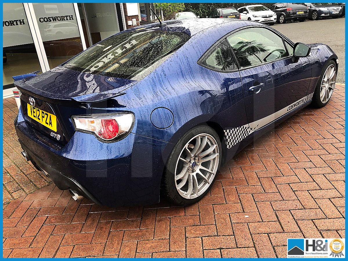 Lot 2 - Cosworth GT86 Development Car. 2012 Toyota GT86. 50,000 miles.Running supercharged