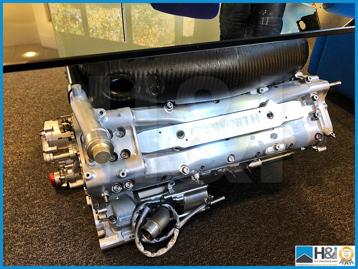 Lot 150 - Stunning Cosworth CA Formula One display engine (no pistons or ancillary parts). Has been profession