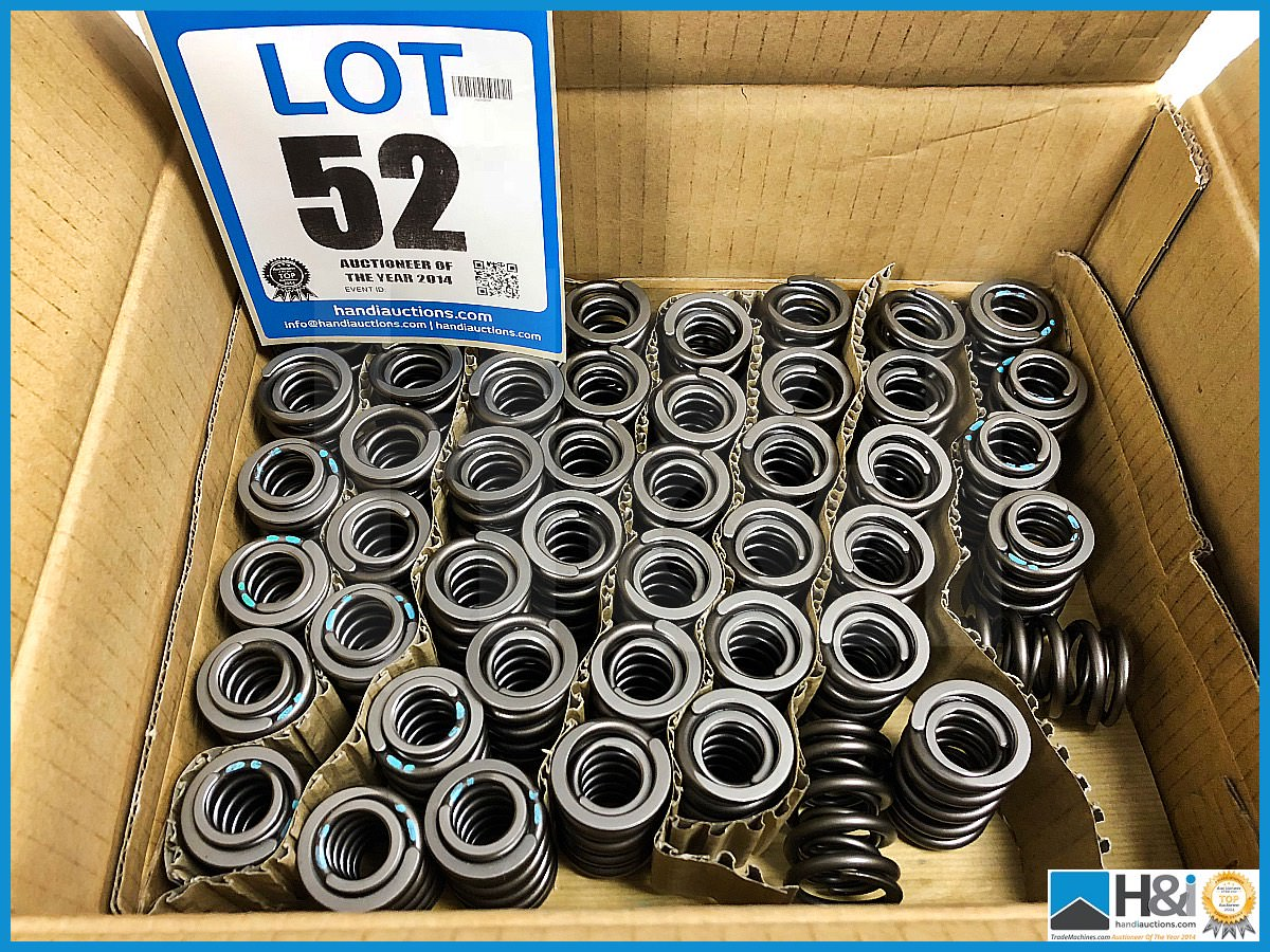Lot 52 - Approx 60 x Cosworth XG Indycar spring - valve, inlet MS. Code: XG2943. Lot 215