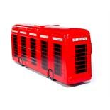 Artist: Stephen McKay  Design: London Telephone Bus    About the artist   Liverpool based artist
