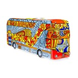 Design: Poppy the Party Bus Artist: Jenny Leonard  About the artist Jenny Leonard is a community