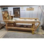 Wood Working Table with Tools