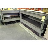 LOT OF WORKBENCHES (4), 5' x 3'