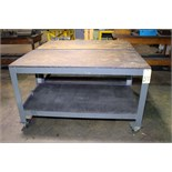LOT OF WORKTABLES (2), 5' x 3'