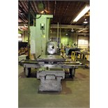 """TABLE TYPE HORIZONTAL BORING MILL, SUMMIT MDL. AFD85, 43"""" x 51"""" built-in rotary table, approx. 60"""""""