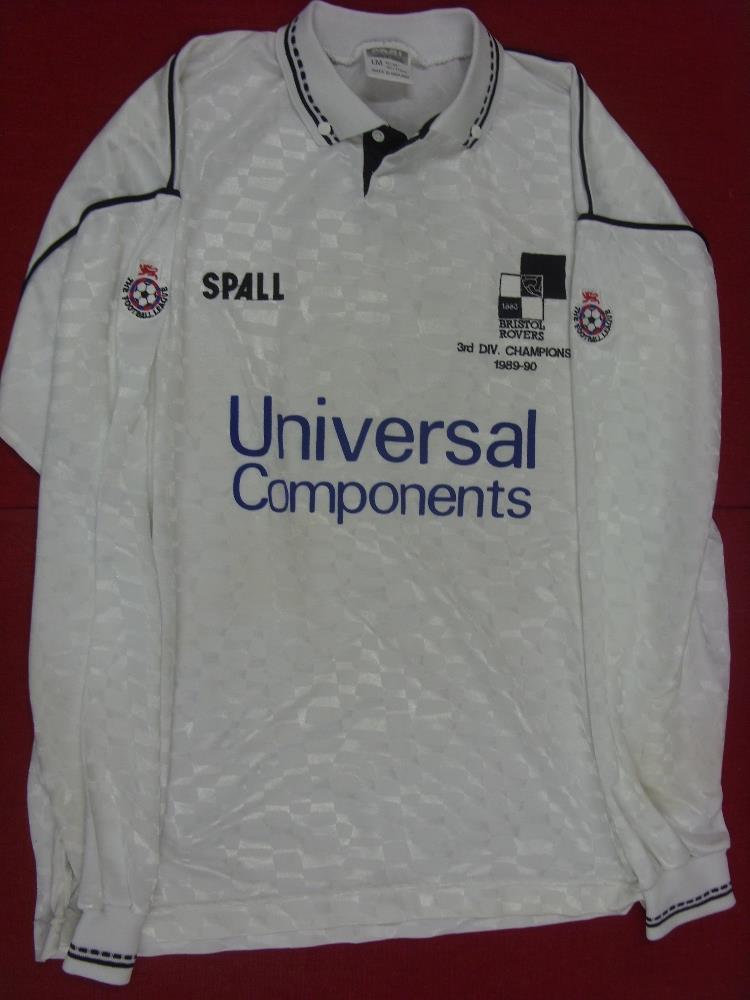 Bristol rovers an away match worn shirt