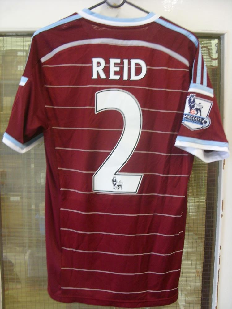 2014 15 West Ham A Match Worn Home Shirt Premier League