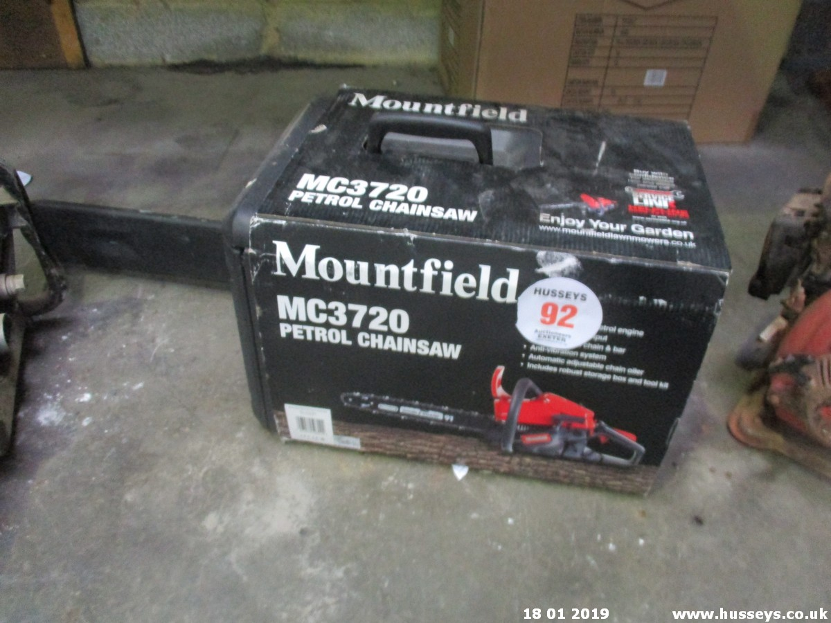 Lot 92 - MOUNTFIELD CHAINSAW