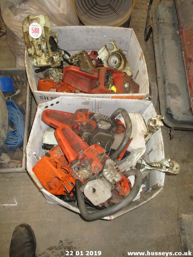 Lot 588 - CHAINSAW SPARES