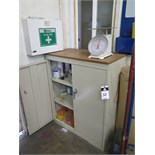 Storage Cabinet, MSDS Board, First Aid Kit and Misc