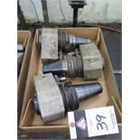 (3)Sandvick CAT-50 Taper Varilock Tooling
