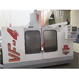 1996 Haas VF-4 4-Axis CNC Vertical Machining Center s/n 8017 w/ Haas Controls, 20-Station ATC, CAT-