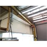 Gorbel 1/2 Ton Cap Wall Mounted Jib w/ CM 2 Ton Electric Hoist