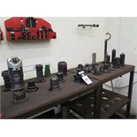 (21)CAT-50 Taper Tooling and Shelves