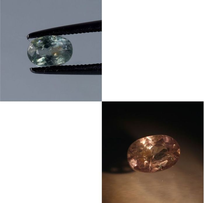 Lot 62 - IGI Certified 0.96 ct. Color Changing Alexandrite MADAGASCAR