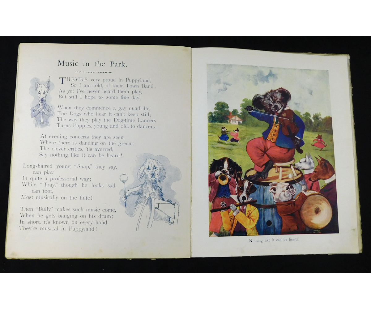 LOUIS WAIN: CLAWS AND PAWS, STORIES AND PICTURES FROM KITTENLAND AND PUPPYLAND, London and - Image 3 of 3