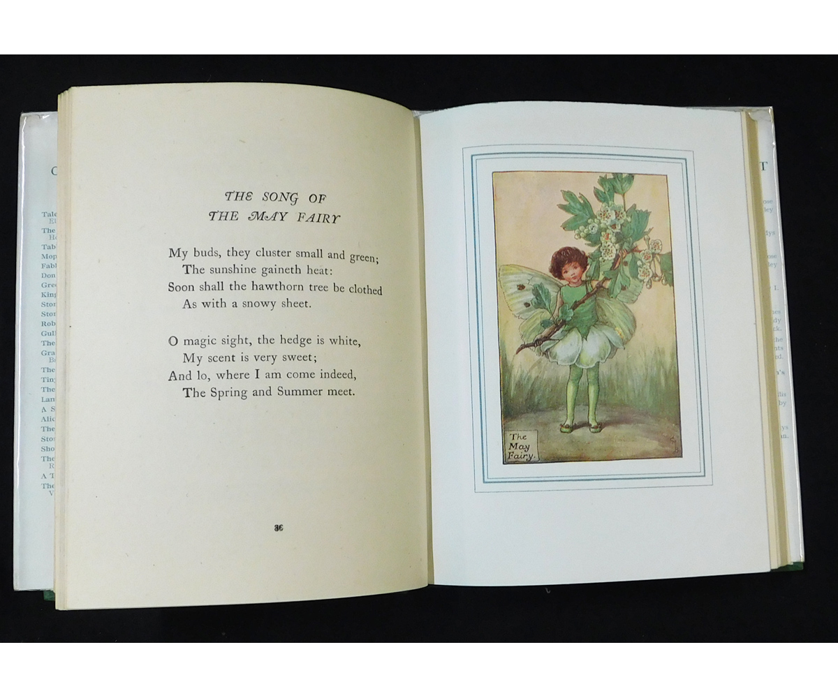 CICELY MARY BARKER: THE BOOK OF THE FLOWER FAIRIES, London and Glasgow, Blackie & Son Ltd, circa - Image 2 of 6