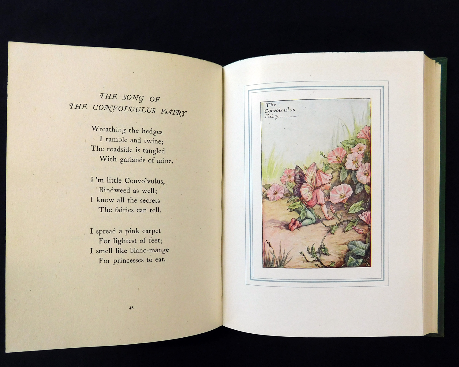 CICELY MARY BARKER: THE BOOK OF THE FLOWER FAIRIES, London and Glasgow, Blackie & Son Ltd, circa - Image 4 of 6