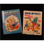 MABEL LUCIE ATTWELL: 2 titles: LUCIE ATTWELL'S GOOD-NIGHT STORIES, [1971], 1st edition, coloured