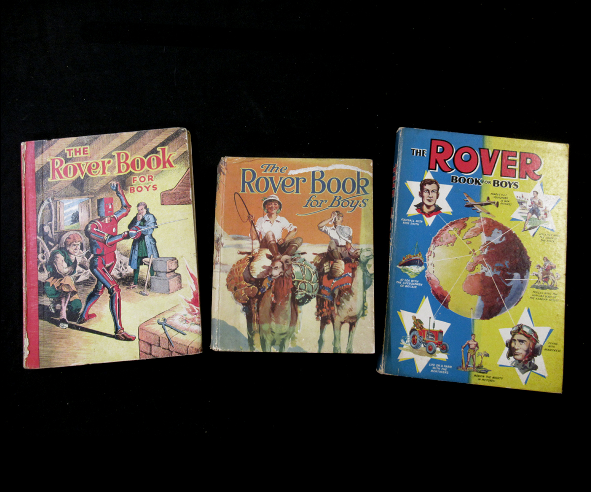 THE ROVER BOOK FOR BOYS, London, Manchester and Dundee, D C Thomson & Co Ltd, [1929], 4 coloured