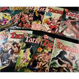 EDGAR RICE-BURROUGHS: TARZAN OF THE APES, US DC Comics Nos 207-235 consecutive, 1972-1975, in full