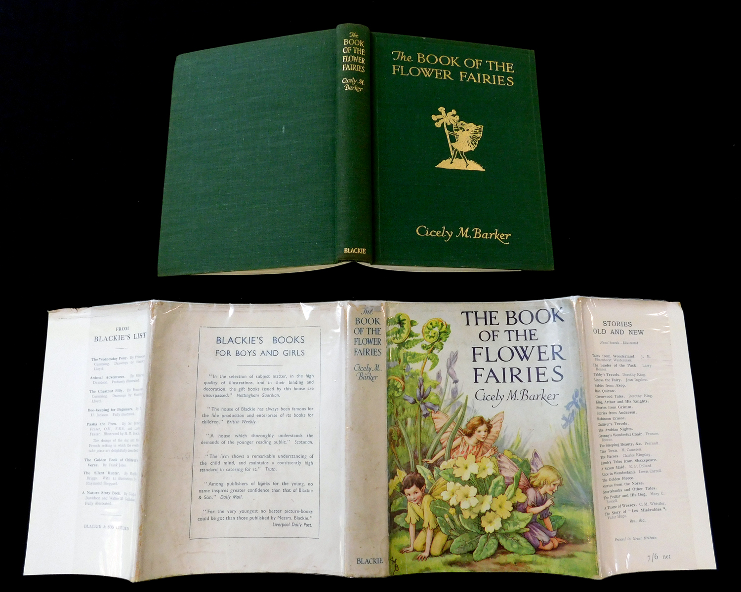 CICELY MARY BARKER: THE BOOK OF THE FLOWER FAIRIES, London and Glasgow, Blackie & Son Ltd, circa - Image 3 of 6