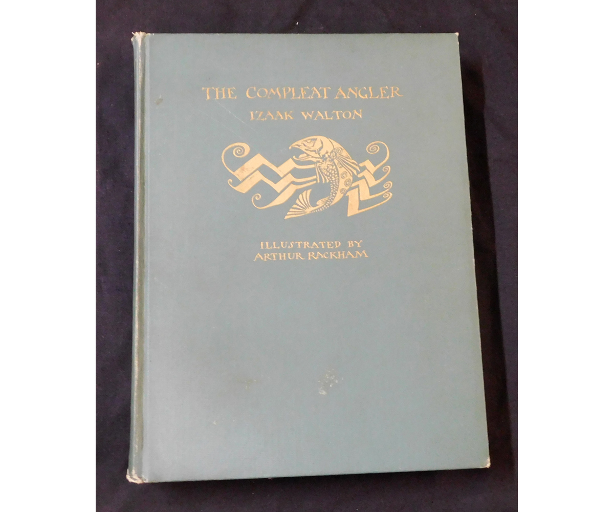 IZAAK WALTON: THE COMPLEAT ANGLER, illustrated Arthur Rackham, Philadelphia, David McKay, [1931], 12