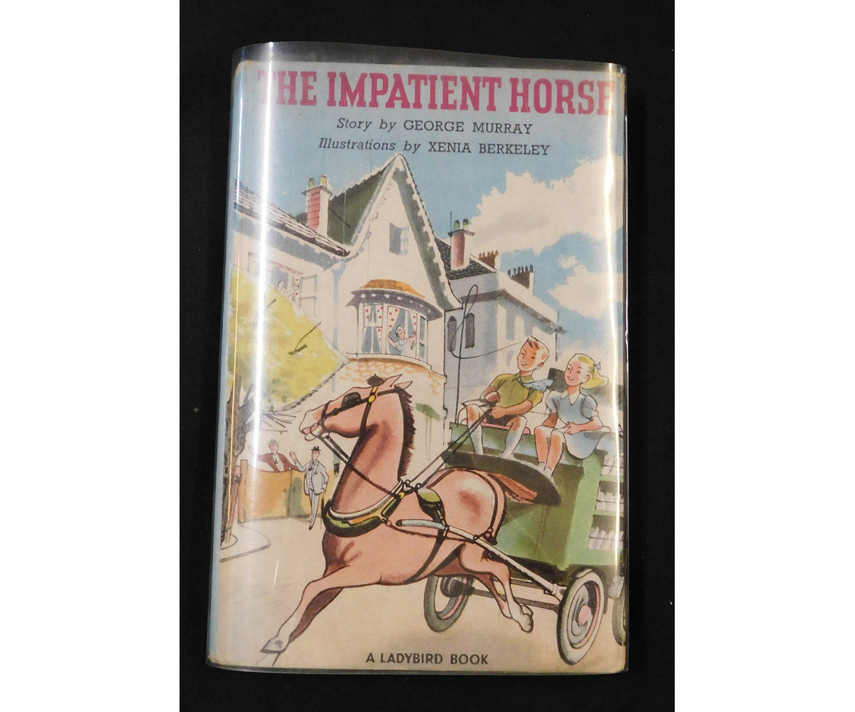 GEORGE MURRAY: THE IMPATIENT HORSE, illustrated Xenia Berkeley, 1953, 1st edition, Ladybird Book