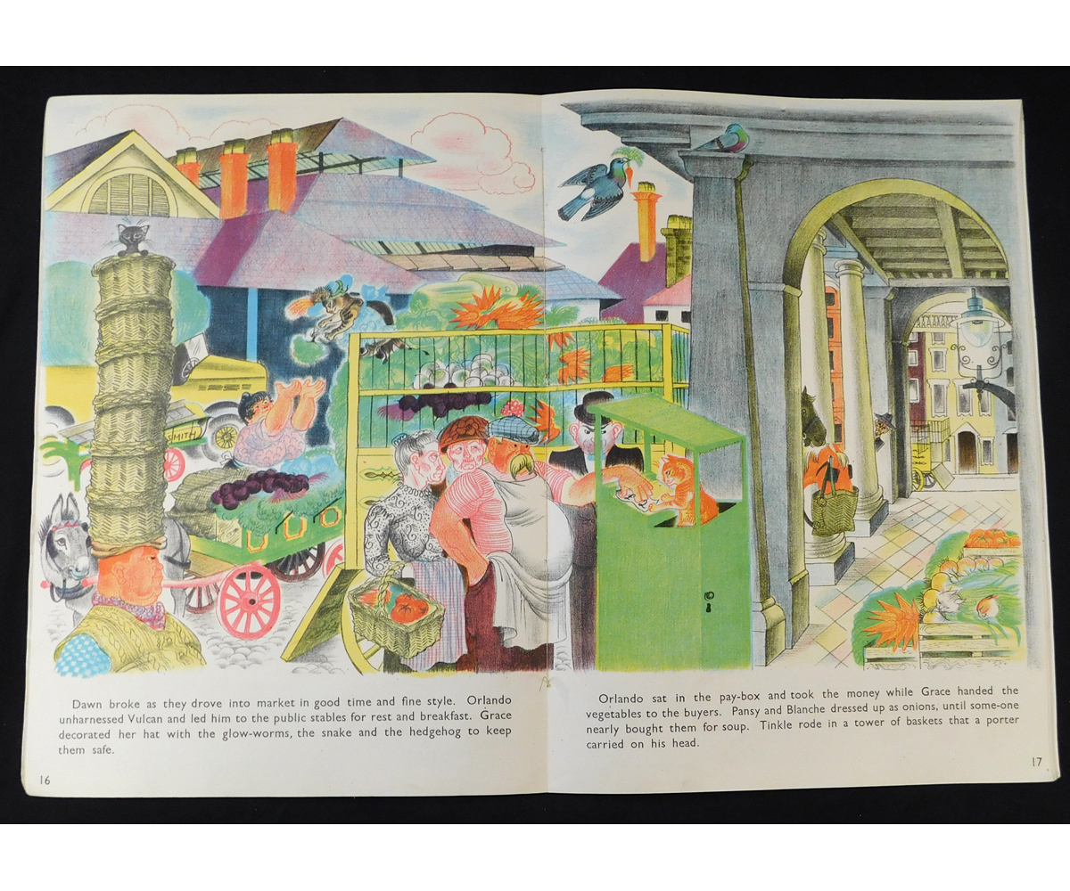 KATHLEEN HALE: ORLANDO (THE MARMALADE CAT) BUYS A FARM, London, Country Life, 1942, 1st edition, - Image 2 of 2