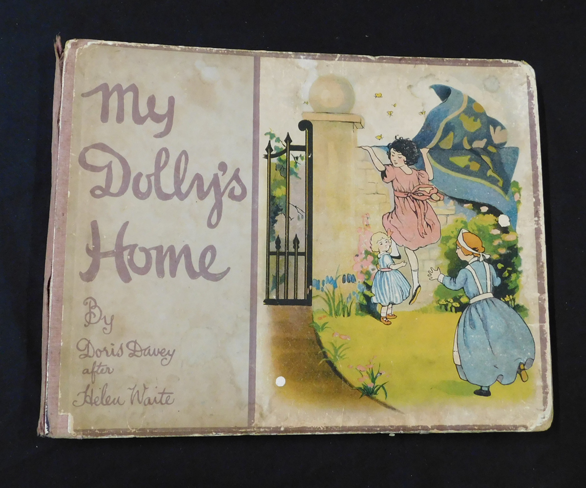 DORIS DAVEY: MY DOLLY'S HOME, London, Simpkin, Marshall et al for Arts & General Publishers Ltd,
