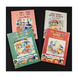 ENID BLYTON: 4 titles: YOU FUNNY LITTLE NODDY, [1955], 1st edition, original pictorial boards,