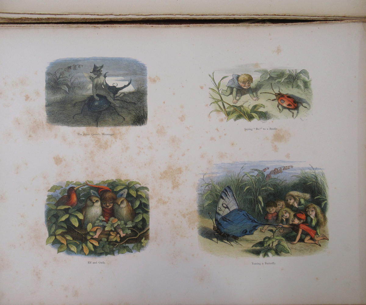 RICHARD DOYLE (ILLUSTRATED) AND WILLIAM ALLINGHAM: IN FAIRYLAND, A SERIES OF PICTURES FROM THE ELF- - Image 9 of 11