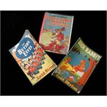 ENID BLYTON: 3 titles: NEWS CHRONICLE BOYS AND GIRLS ANNUAL, illustrated Katharine Nixon and